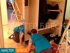 генеральная уборка квартиры - что входит