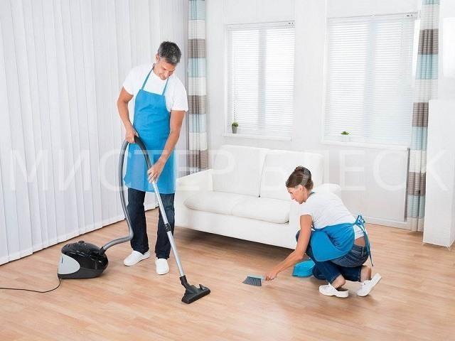 уборка загородного дома