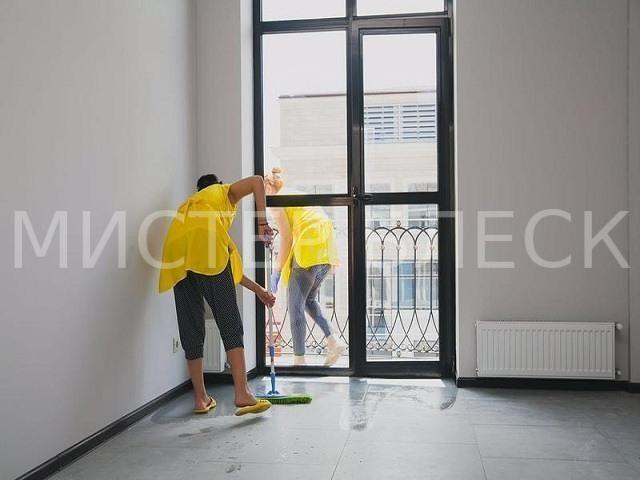 уборка офиса после ремонта москва,