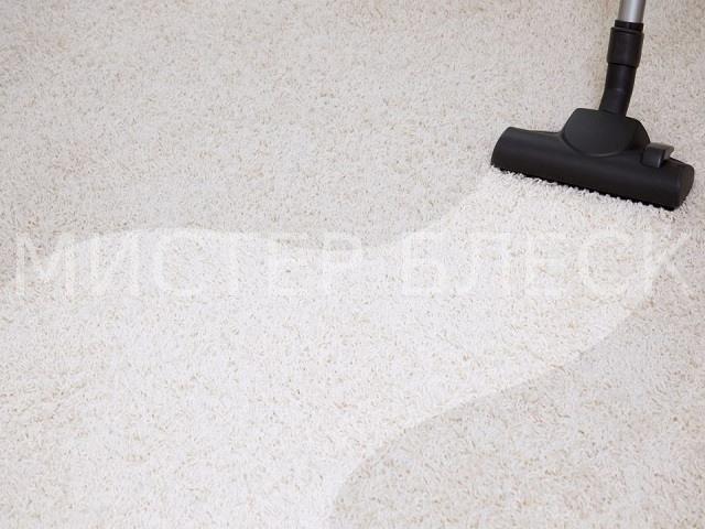 почистить светлый ковролин